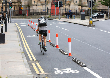 Cycling: Plans to reduce carriageway to two lanes.