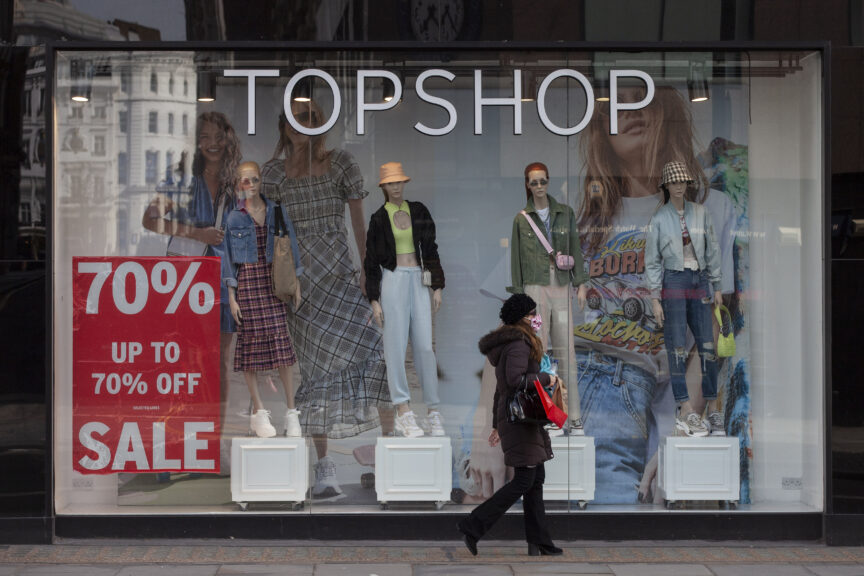 Topshop: Sir Philip Green's Arcadia Group has gone bust.