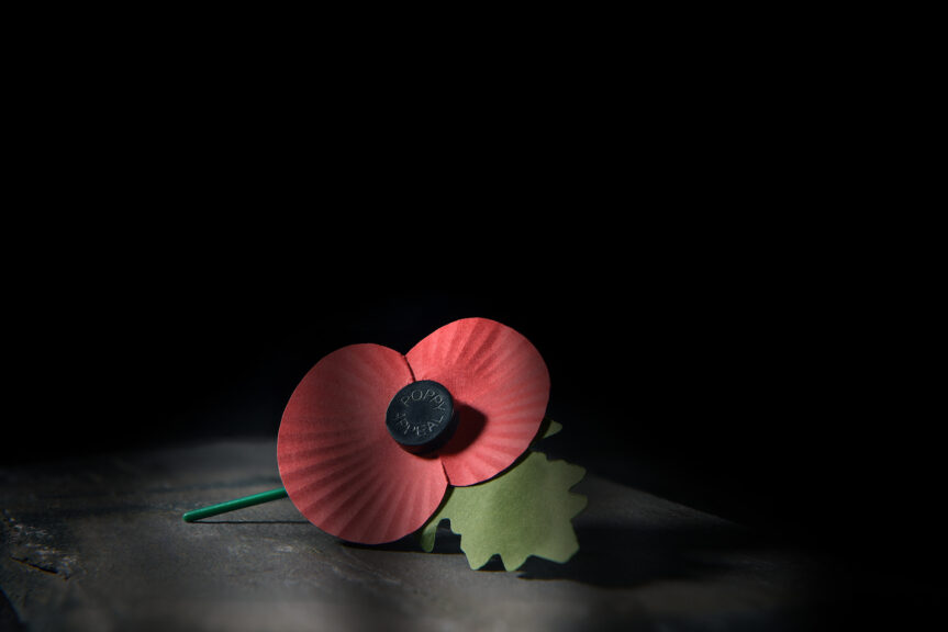 Poppy: Nation to pay respects to war dead.