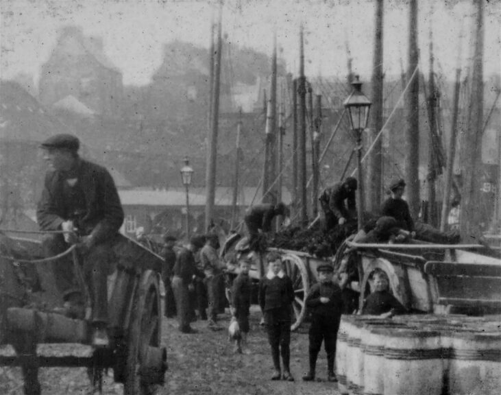 The oldest known moving images of Wick have been restored.