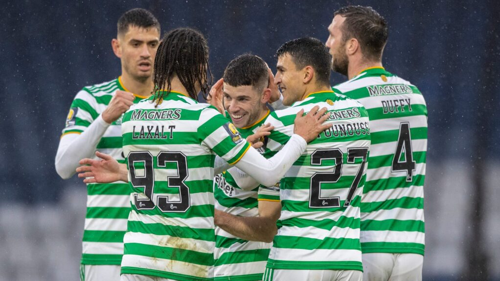 Ryan Christie opened the scoring for Celtic.