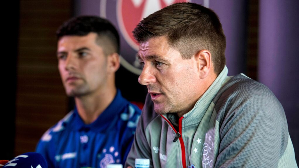 Gerrard says he will support Jones and Edmundson.