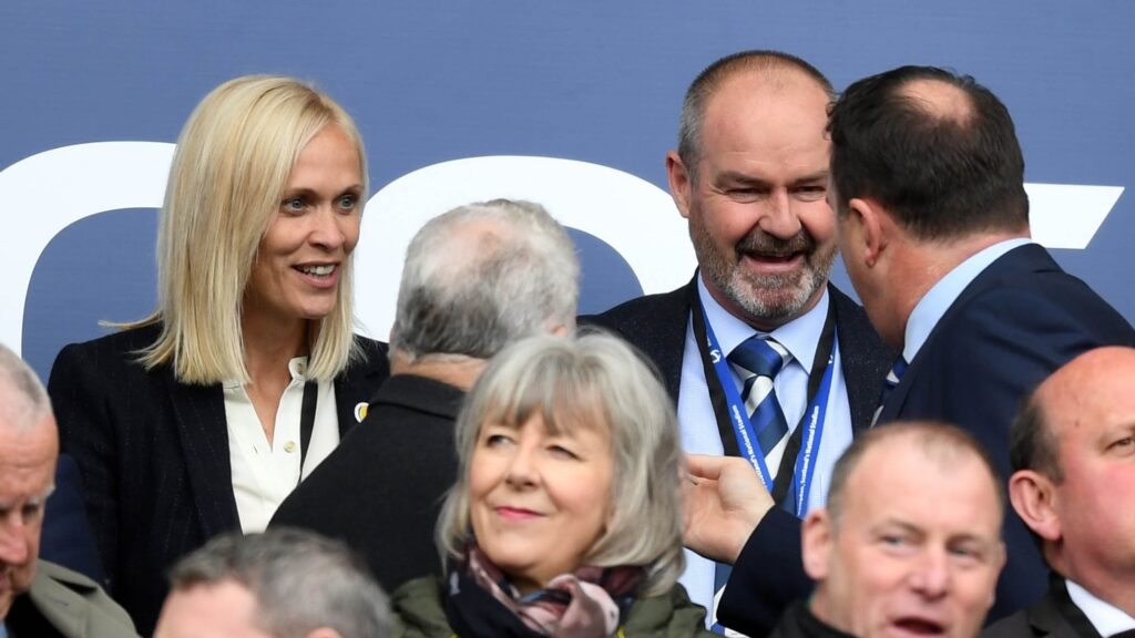 Coaches: Shelley Kerr and Steve Clarke lead the nation's national teams.