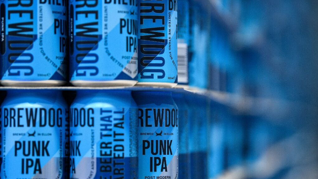 Ban: Brewdog advert featuring expletive banned.