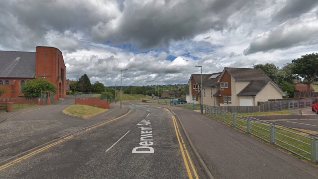 Dundee: The woman was attacked in Derwent Avenue on Friday night.