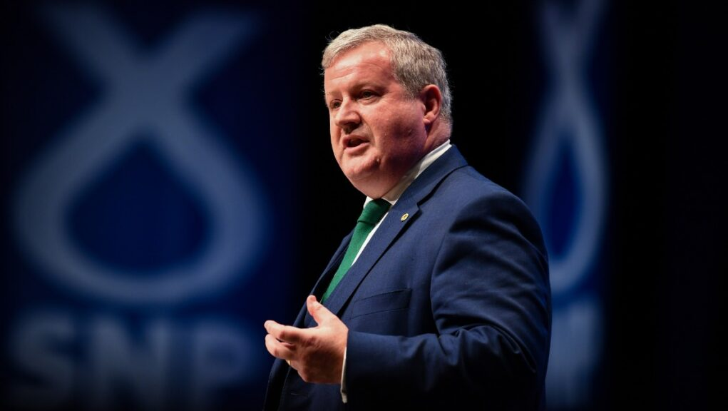 Independence: Blackford urges SNP members to 'keep the faith'.