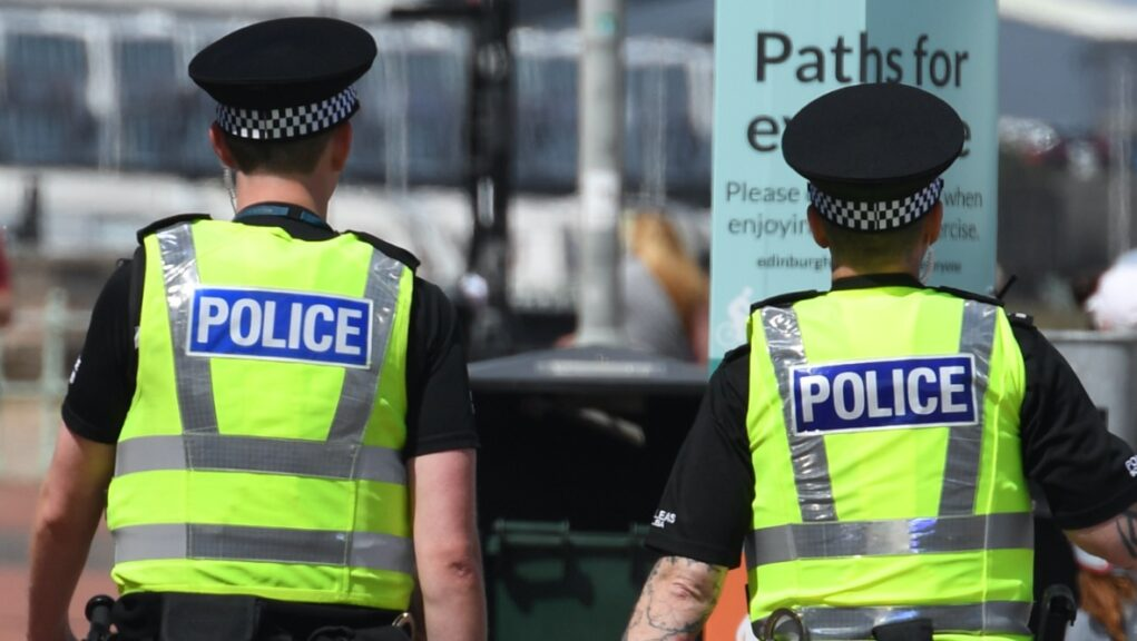 Officers seized up to £250,000 after stopping a vehicle.