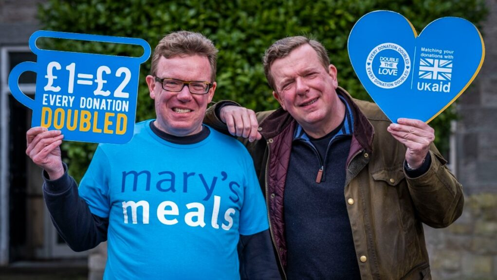 The Proclaimers will support the Double The Love campaign.