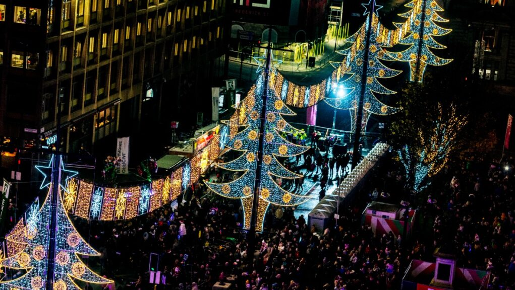 George Square is likely to be a lot quieter during Christmas this year.