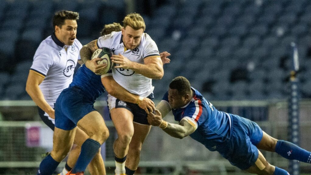 Scotland are scheduled to face France in the Six Nations on Sunday.