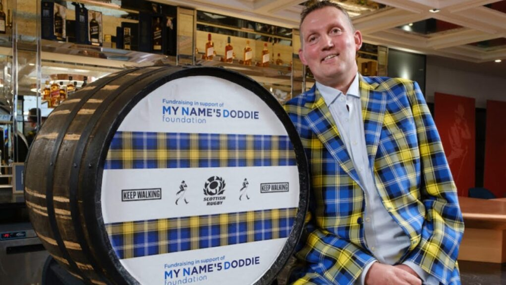 My Name'5 Doddie Foundation: A whisky auction raised more than £50,000.