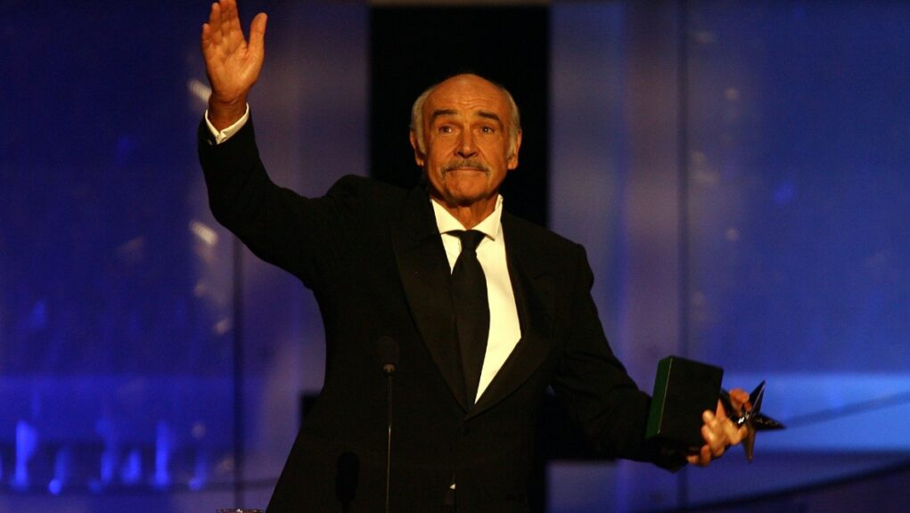 Sir Sean Connery died last month aged 90.
