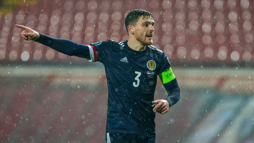 Robertson: Hoping to build on Euro 2020 qualification.