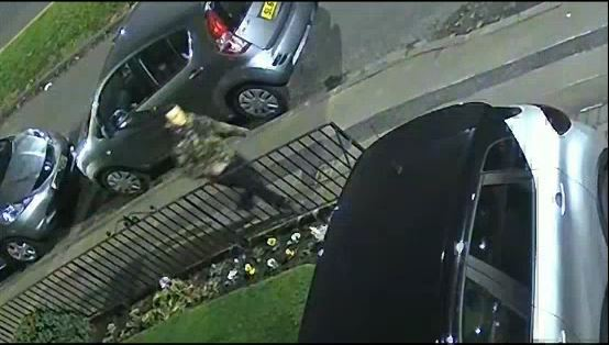 CCTV: Man wanted over assault of teenager.