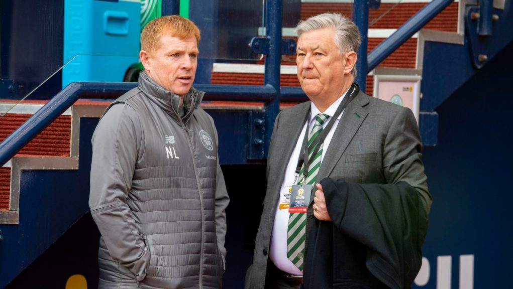 'Not complacency': Celtic chief executive Peter Lawwell believes club prepared for title challenge.