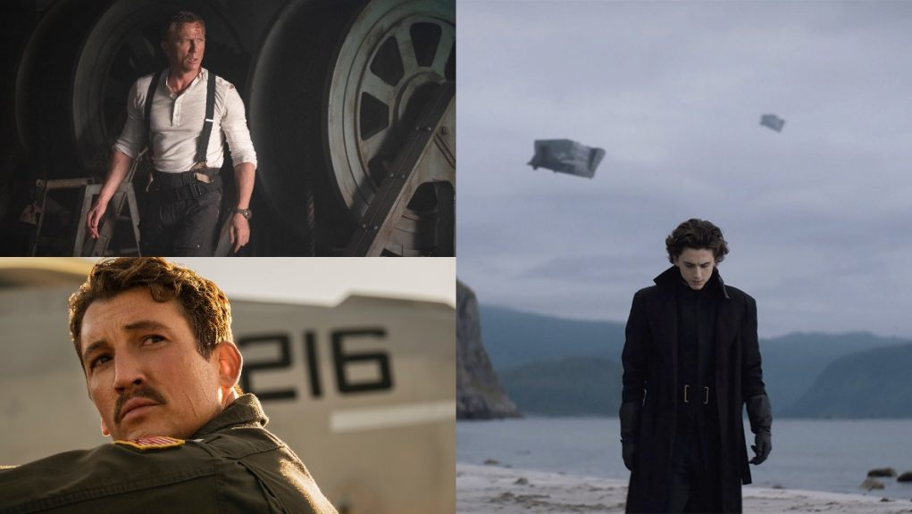 The silver screen: Films due out this year include No Time to Die, Top Gun: Maverick and Dune.