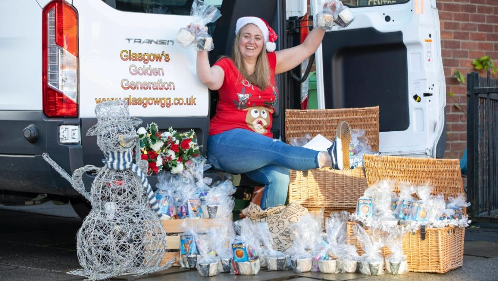 National Lottery: Eight lotto winners have come together to help deliver festive treats to the elderly and vulnerable.