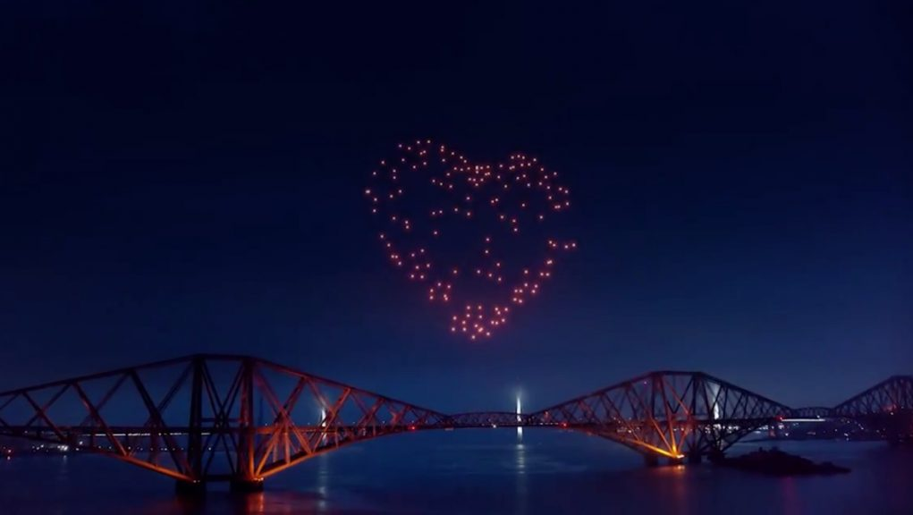 Edinburgh's Hogmanay: The much-loved event has moved online due to the coronavirus pandemic.