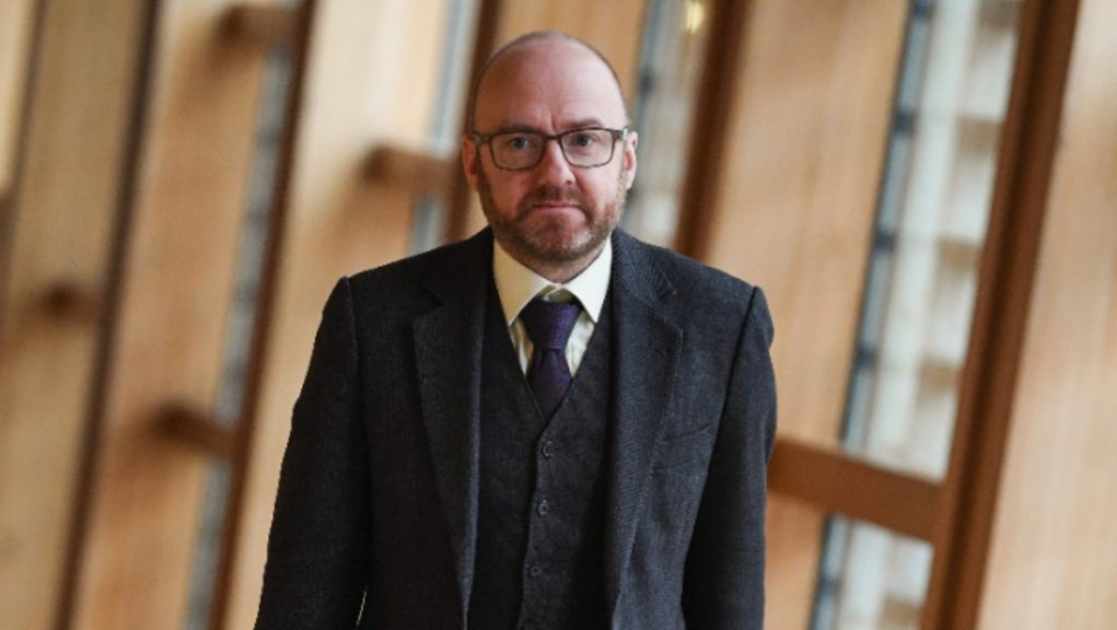 Harvie: Calling for monarchy to be abolished.