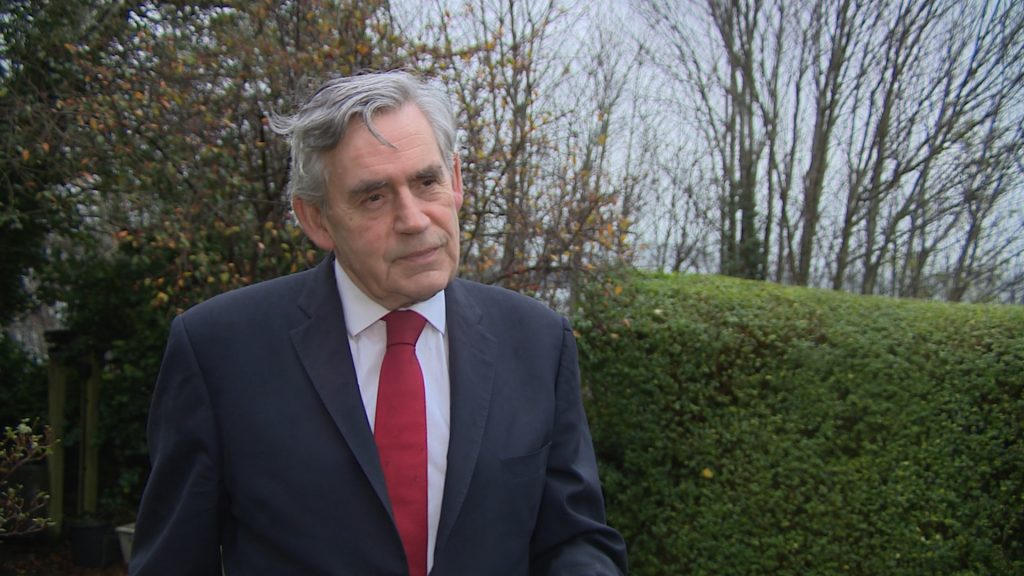 Gordon Brown: Former PM welcomes calls from former African leaders for emergency summit.