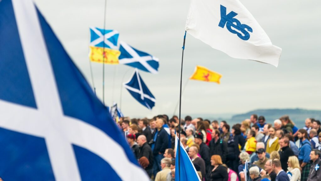 Independence: The former head of the Better Together campaign has called for Boris Johnson to stay out of the debate.