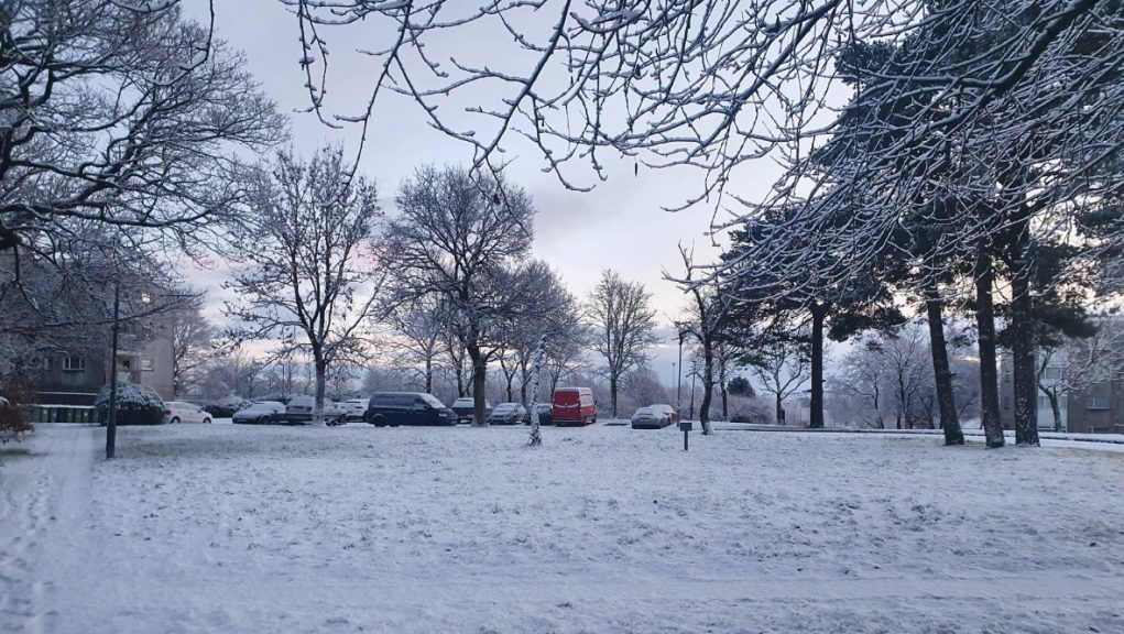 Snow: Roads could be affected.