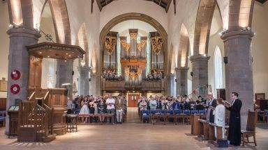 Greyfriars Kirk, Church of Scotland.