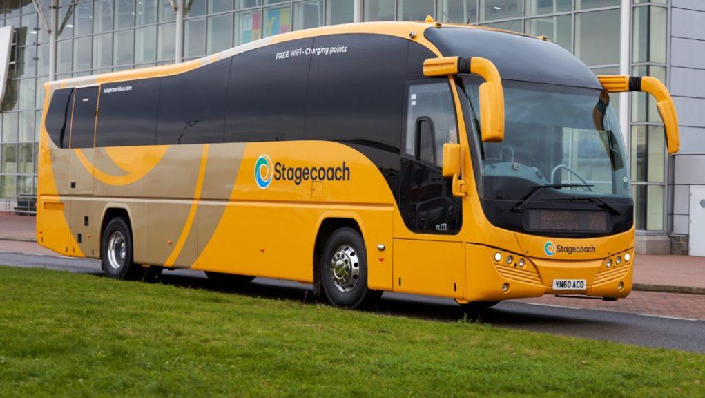 Stagecoach half-year profits crashed 92%.