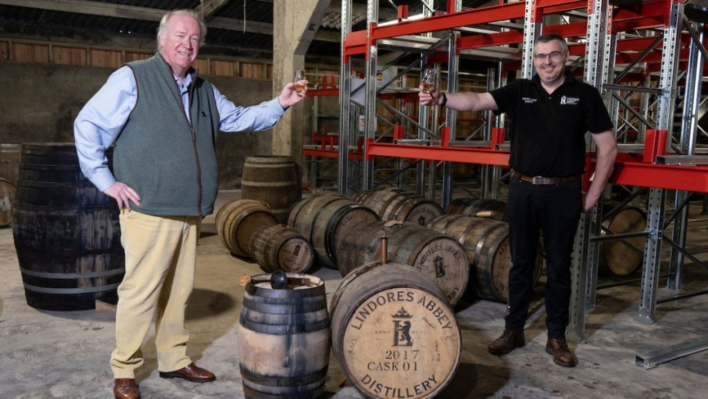 Whisky: Drams all round as Lindores Abbey produces whisky.
