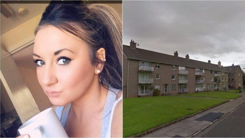 Louise Aitchison was attacked at her home in Park Terrace.