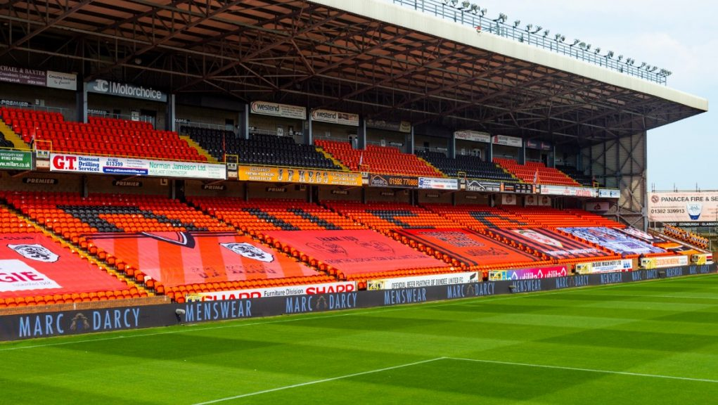 First-team staff at Tannadice have been asked to self-isolate.