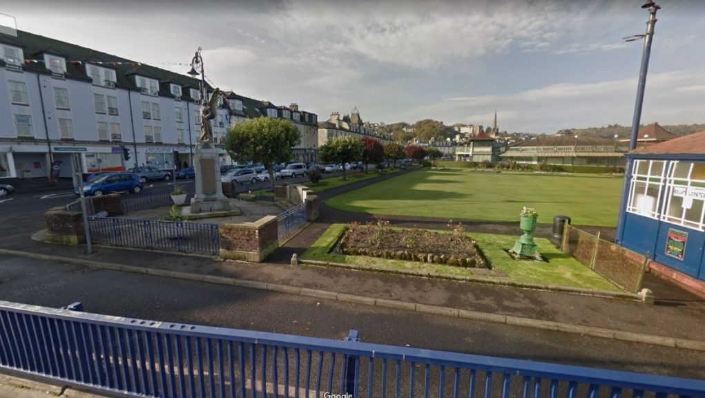 Group allegedly breached rules by travelling to Isle of Bute.