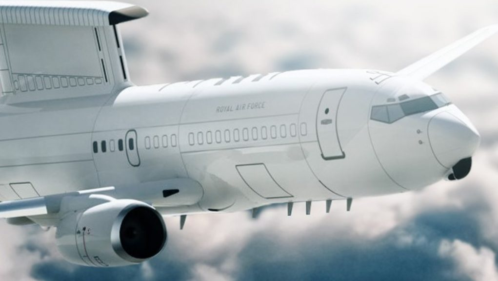 The new E-7 Wedgetail aircraft headed to RAF Lossiemouth are based on the Boeing 737.