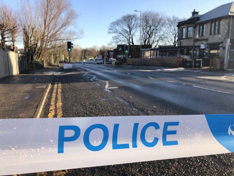 Shooting: Two men left injured.