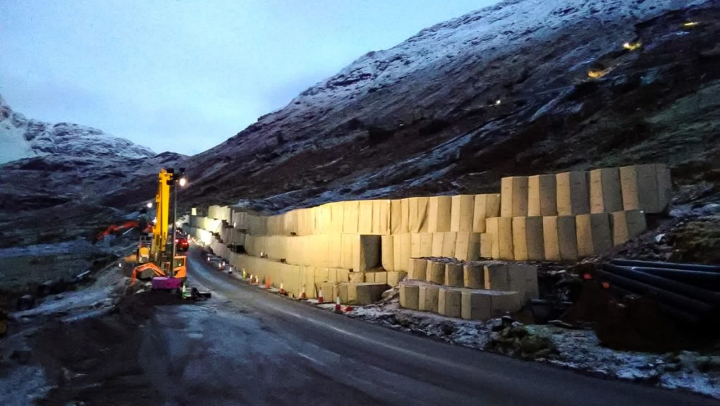A83: The Rest and Be Thankful reopens to motorists.