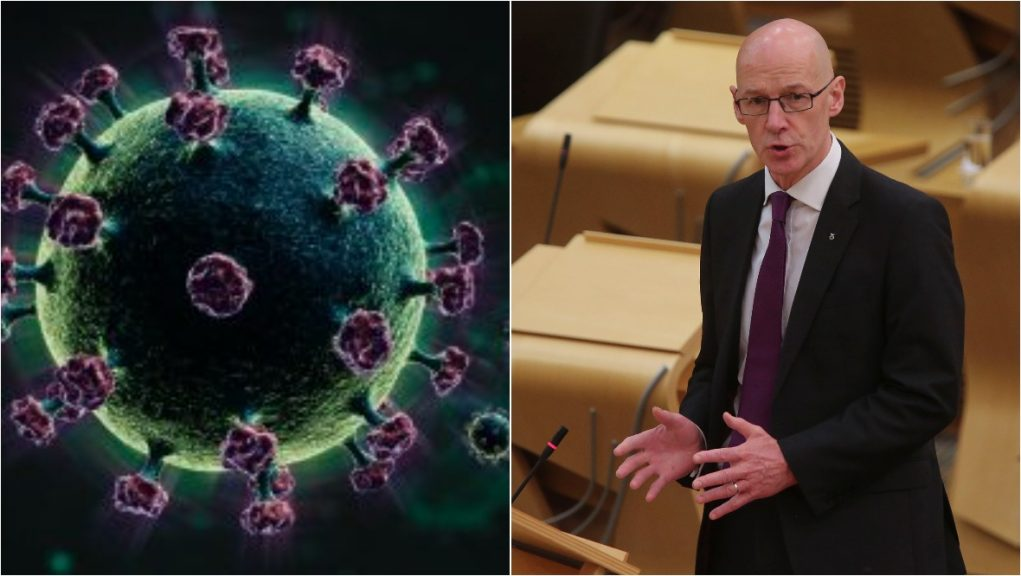 Swinney says an independence referendum is a 'critical response to Covid'.