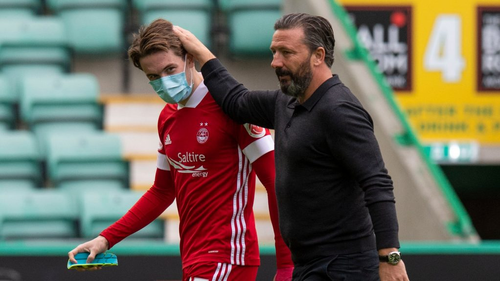 Scott Wright has come through the youth system at Aberdeen.