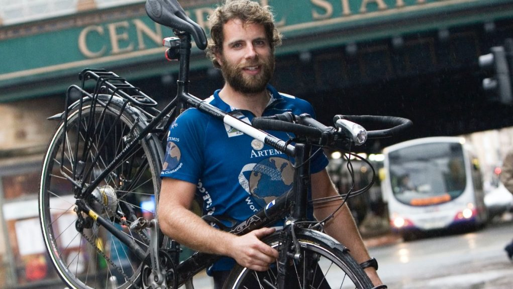Mary's Meals: Record-breaking cyclist Mark Beaumont is leading a new campaign.