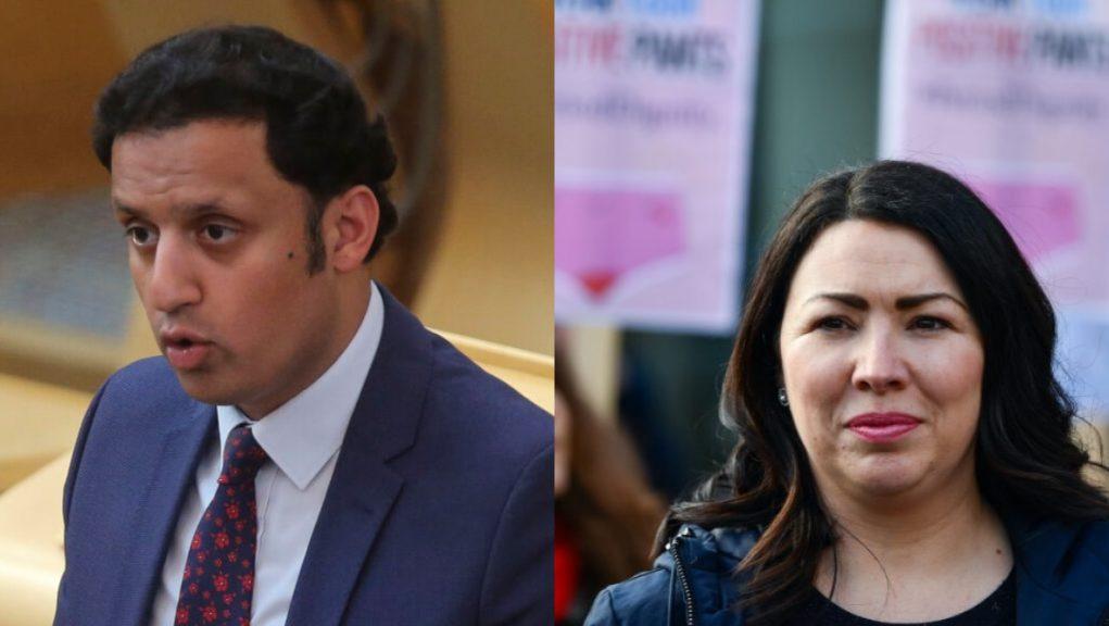 Monica Lennon and Anas Sarwar.