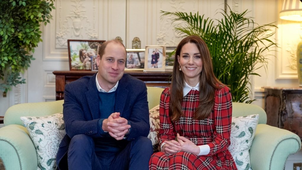 Duke and Duchess of Cambridge recited Robert Burns in video message.