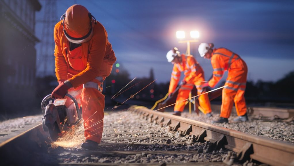 Rail: The plan would pull investment from extending the road network, doubling the resources pumped into rail.