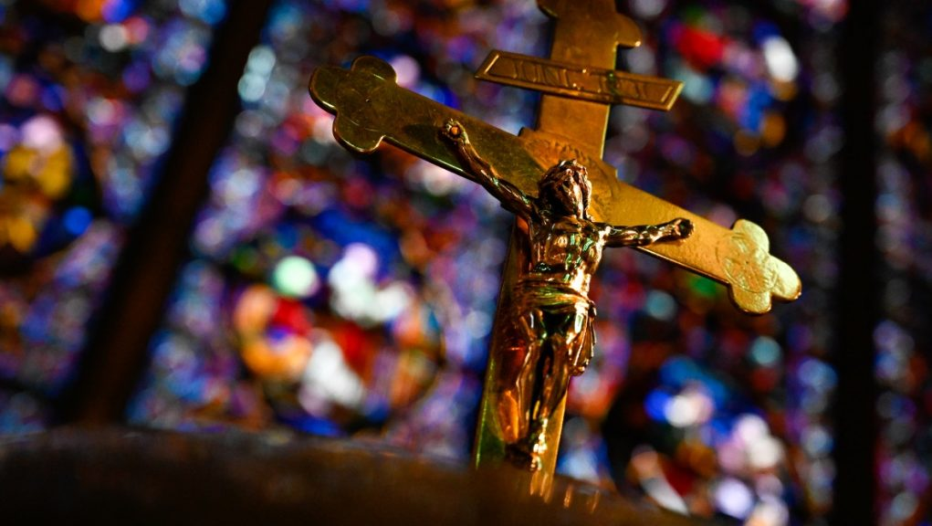 A survey of churches in Scotland found nearly all those who responded offered online worship.