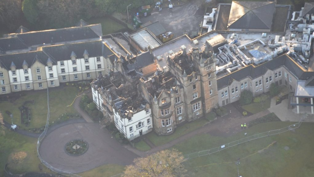 Cameron House Hotel: Fatal fire in 2017.