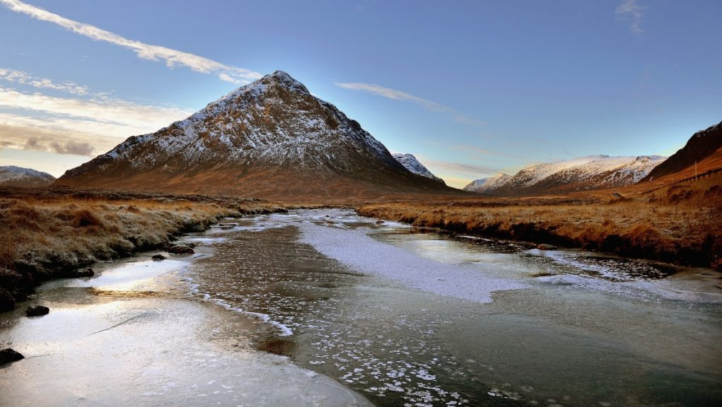 Covid breach: The men had to be rescued from the Buachaille Etive Mòr.