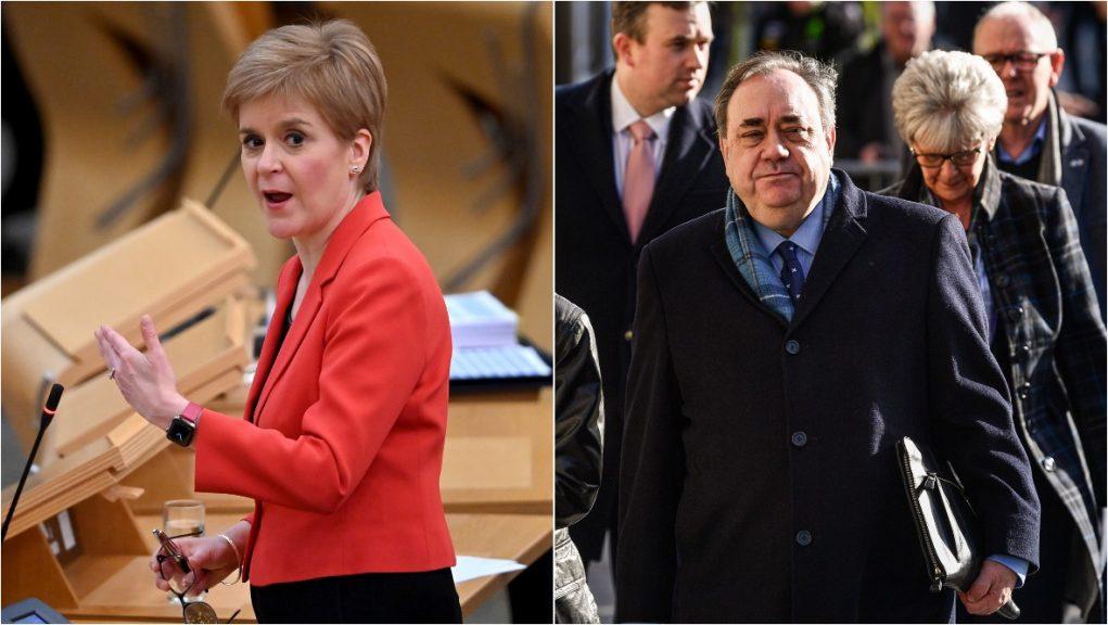 Alex Salmond has accused Nicola Sturgeon of 'breaching the ministerial code'.
