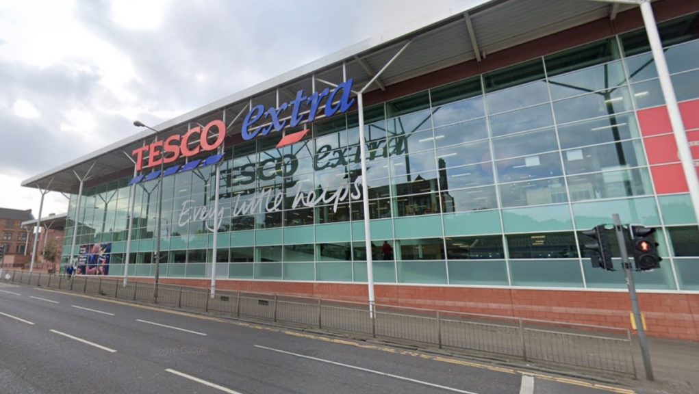 Tesco: A 'small number' of staff members have tested positive for Covid at the Maryhill store.
