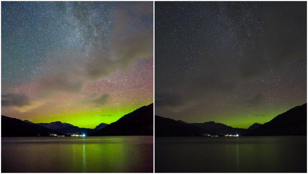 Stunning: Photographer captures Milky Way and Aurora Borealis.
