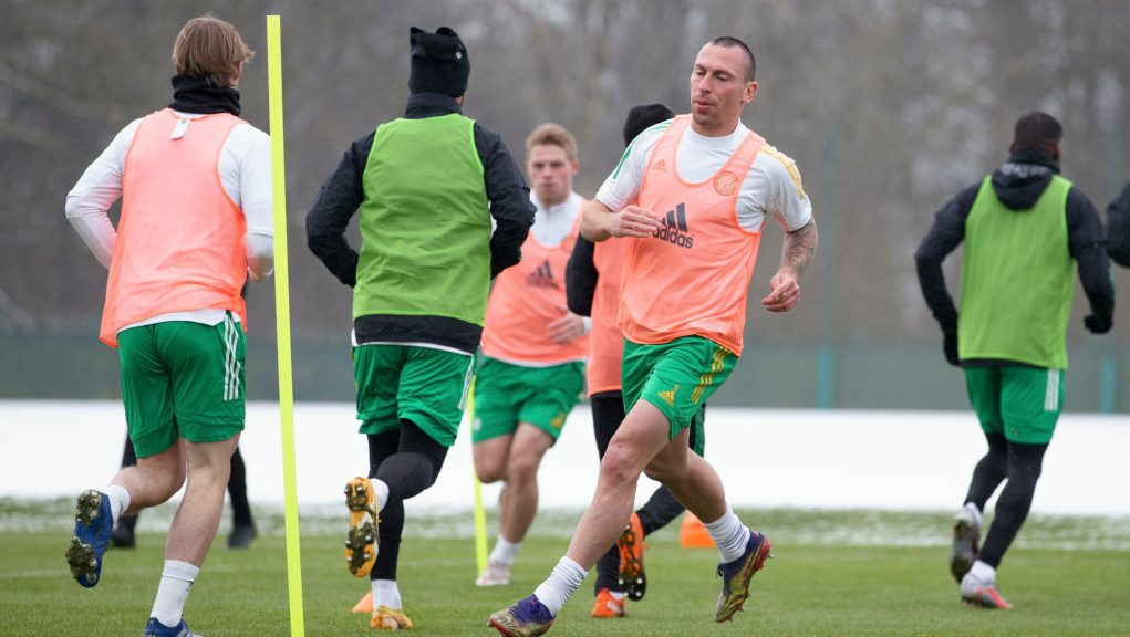 Captain Scott Brown is among those missing from the Celtic squad.