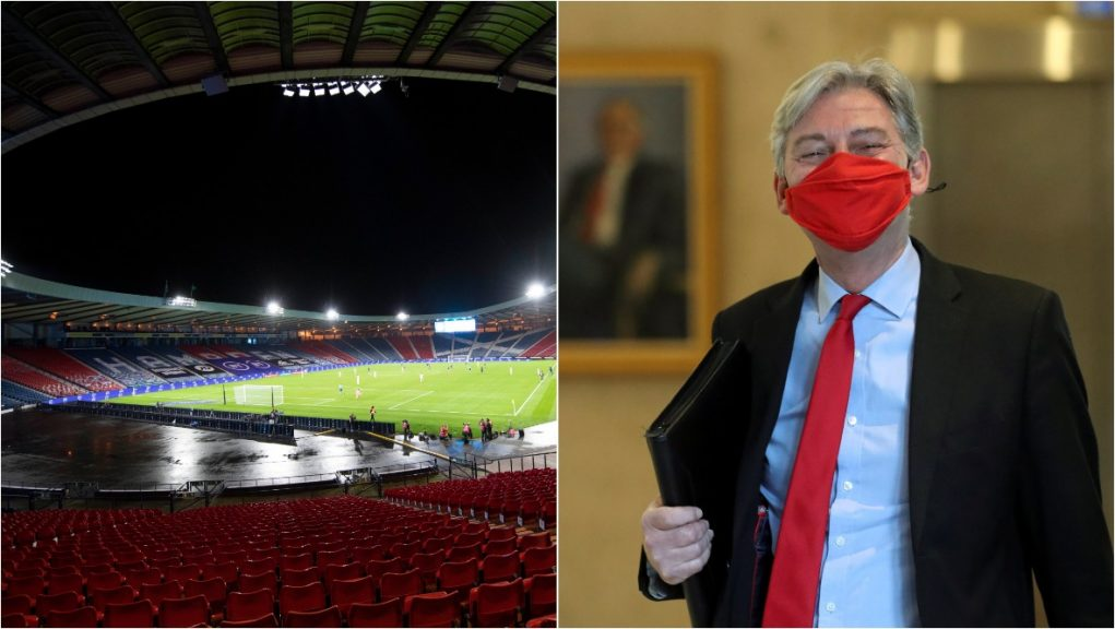 Leonard says key workers should get free tickets to Scotland's Euro 2020 matches.