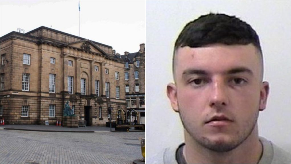 Jailed for life: Declan Blythe stabbed Cameron McMillan to death.
